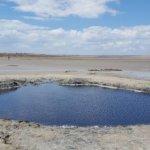 Солёное озеро Велесовка
